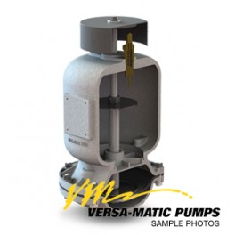 VDA051KPTNS00 - Tlumik pulsacji PVDF